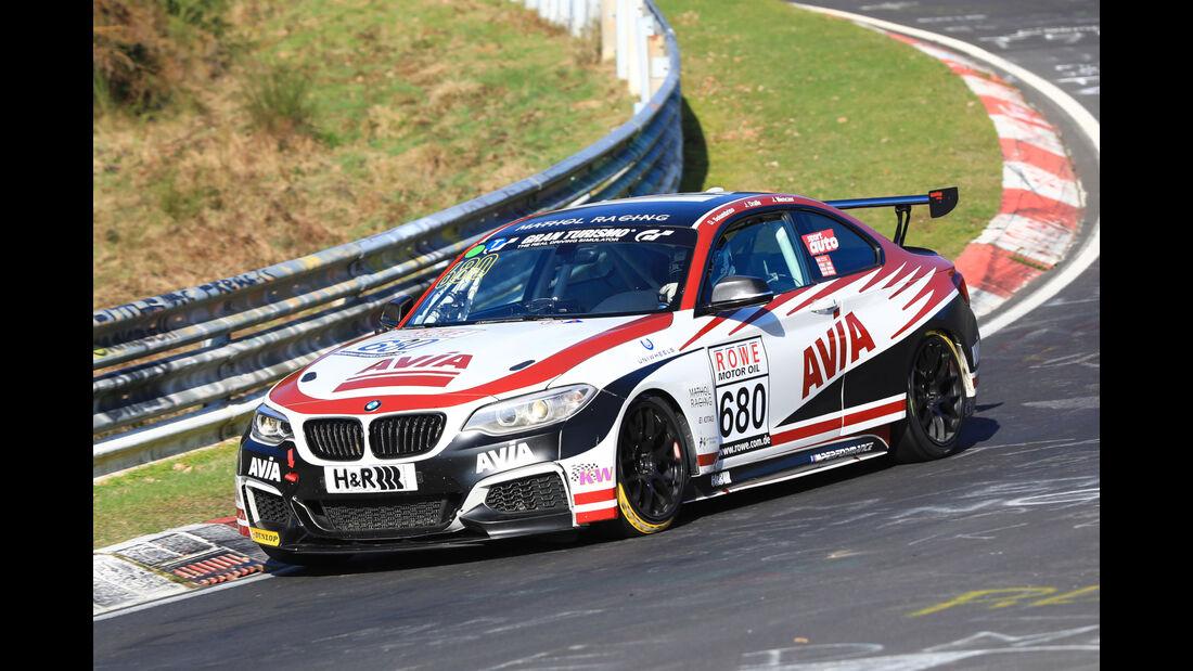 VLN - Nürburgring Nordschleife - Startnummer #680 - BMW M235i Racing Cup - AVIA Racing - CUP5