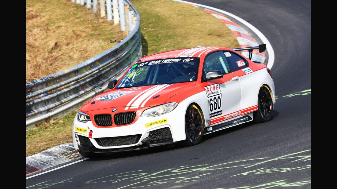 VLN - Nürburgring Nordschleife - Startnummer #680 - BMW M235i Racing Cup - Fanclub Mathol Racing e.V. - CUP5