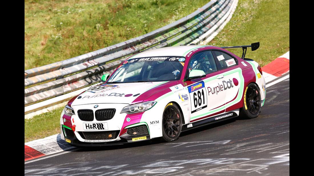 VLN - Nürburgring Nordschleife - Startnummer #681 - BMW M235i Racing Cup - CUP5