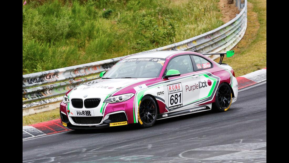 VLN - Nürburgring Nordschleife - Startnummer #681 - BMW M23i Racing Cup - Walkenhorst Motorsport - Cup5