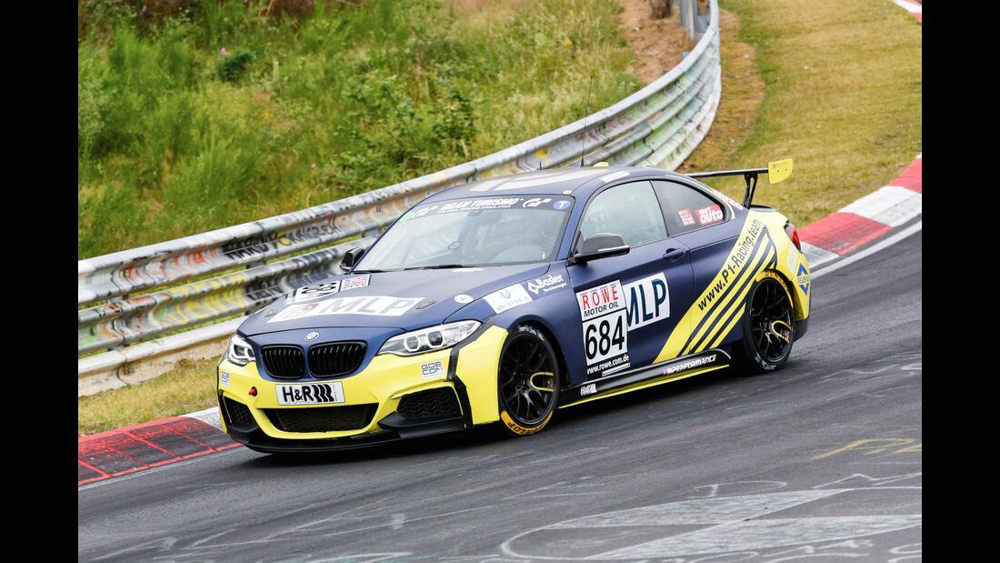 VLN - Nürburgring Nordschleife - Startnummer #684 - BMW M235i Racing Cup - Team P1 Racing - Cup5