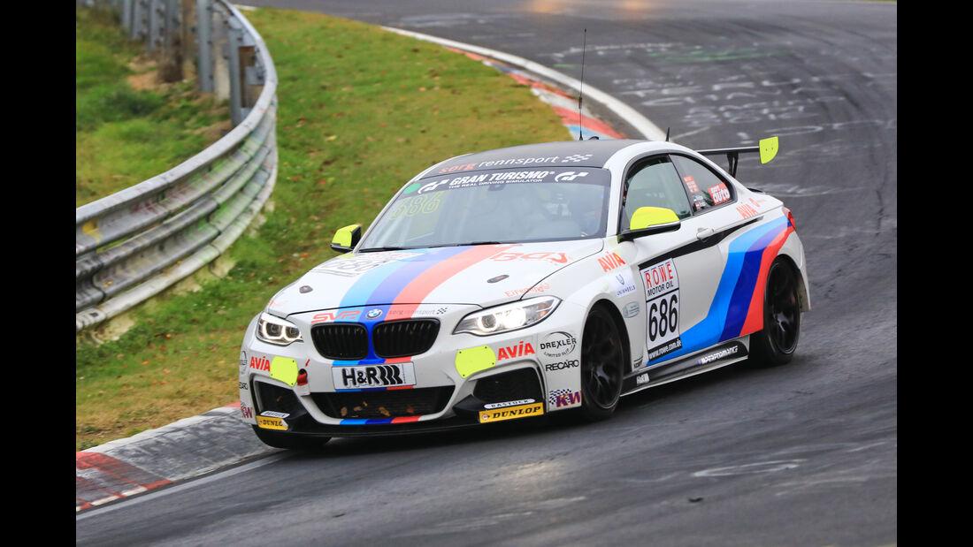 VLN - Nürburgring Nordschleife - Startnummer #686 - BMW M235i Racing Cup - Team Securtal Sorg Rennsport - CUP5