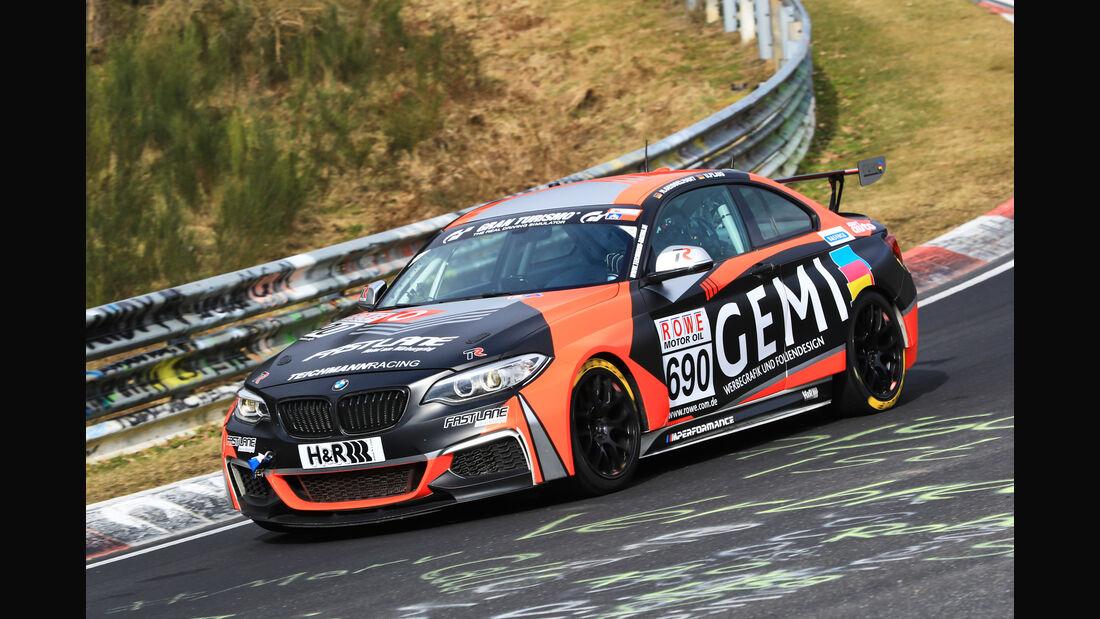 VLN - Nürburgring Nordschleife - Startnummer #690 - BMW M235i Racing Cup - Teichmann Racing - CUP5