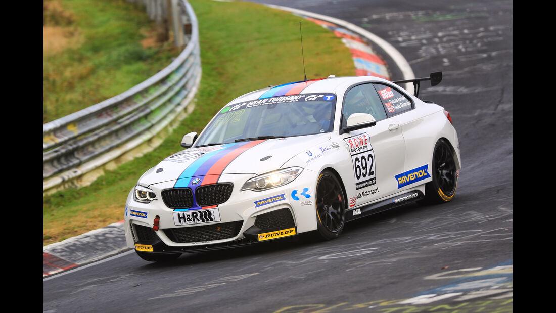 VLN - Nürburgring Nordschleife - Startnummer #692 - BMW M235i Racing Cup - Bonk Motorsport KG - CUP5