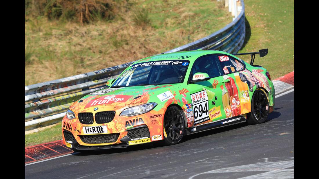 VLN - Nürburgring Nordschleife - Startnummer #694 - BMW M235i Racing Cup - Team Securtal Sorg Rennsport - CUP5