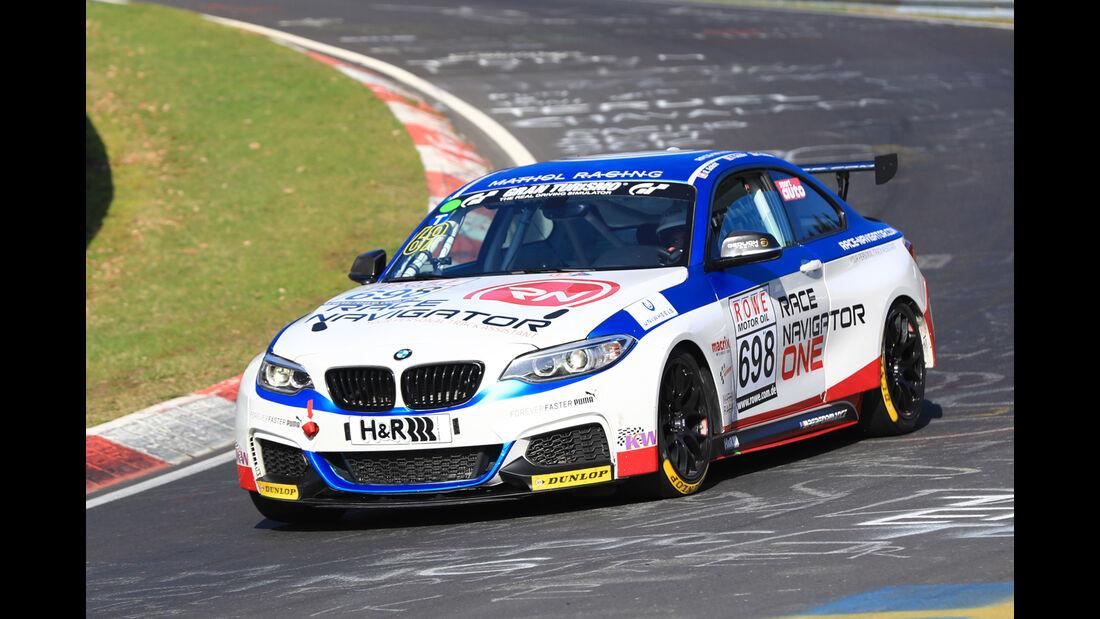 VLN - Nürburgring Nordschleife - Startnummer #698 - BMW M235i Racing Cup - Fanclub Mathol Racing e.V. - CUP5