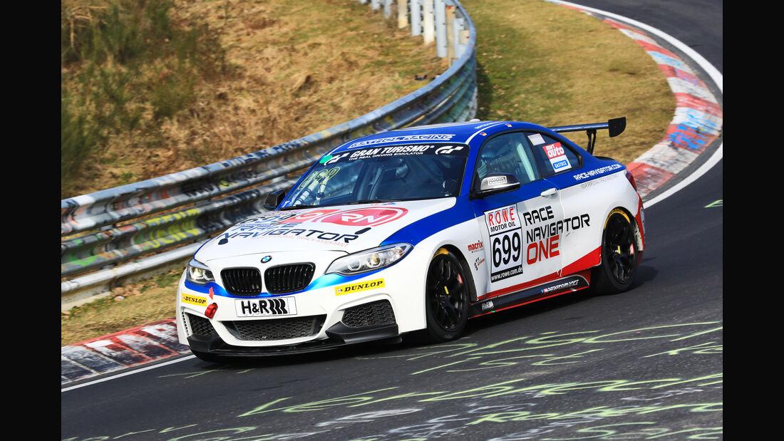 VLN - Nürburgring Nordschleife - Startnummer #699 - BMW M235i Racing Cup - Fanclub Mathol Racing e.V. - CUP5