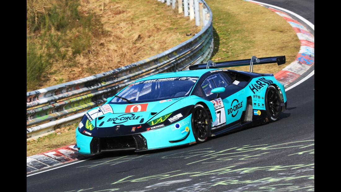 VLN - Nürburgring Nordschleife - Startnummer #7 - Lamborghini Huracán GT3 - Konrad Motorsport GmbH - SP9 PRE
