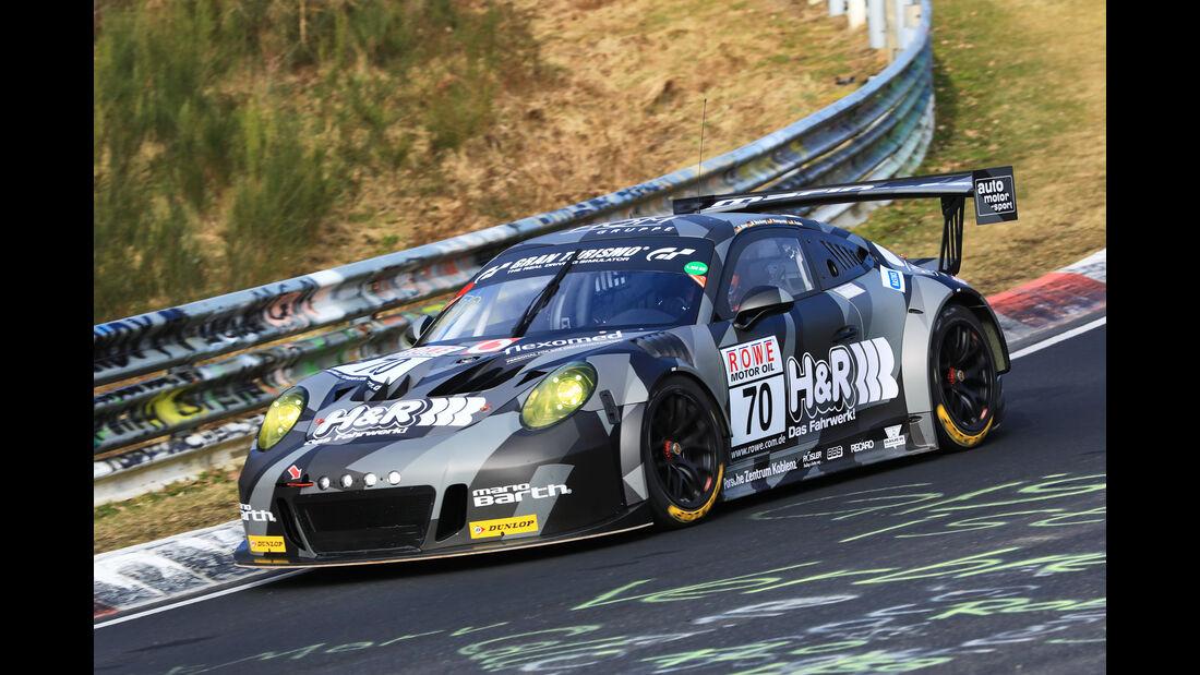 VLN - Nürburgring Nordschleife - Startnummer #70 - Porsche 911 GT3 Cup (991) MR - H&R Spezialfedern Team Uwe Alzen Automotive - SP7