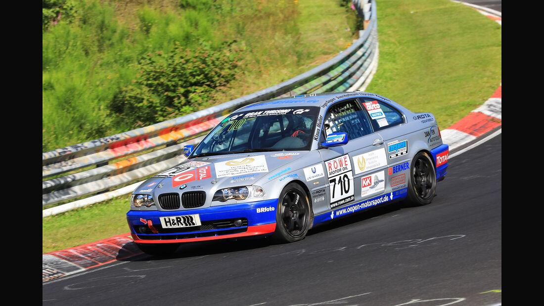 VLN - Nürburgring Nordschleife - Startnummer #710 - BMW 325ci E46 - V4