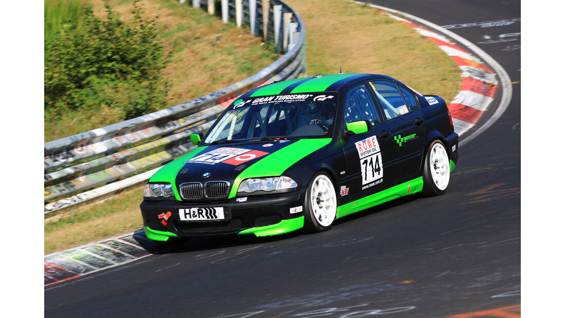 VLN - Nürburgring Nordschleife - Startnummer #714 - BMW 325i E46 - Dürener Motorsportclub e.V - V4