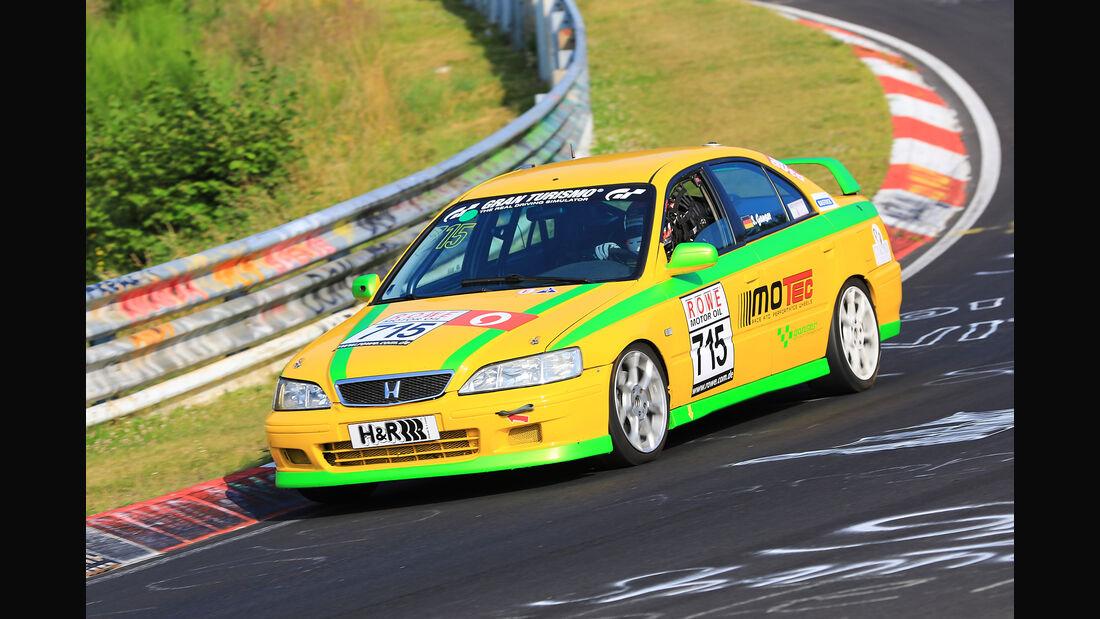 VLN - Nürburgring Nordschleife - Startnummer #715 - Honda Accord Type R - Dürener Motorsportclub e.V - V4