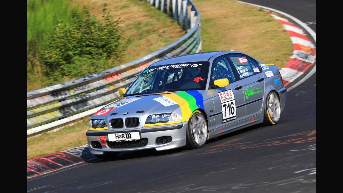 VLN - Nürburgring Nordschleife - Startnummer #716 - BMW 325i E46  - V4