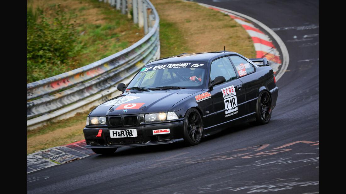 VLN - Nürburgring Nordschleife - Startnummer #718 - BMW 325i E36 - V4