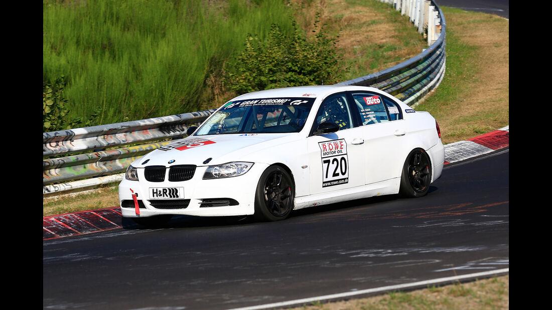 VLN - Nürburgring Nordschleife - Startnummer #720 - BMW 325i E90 - V4