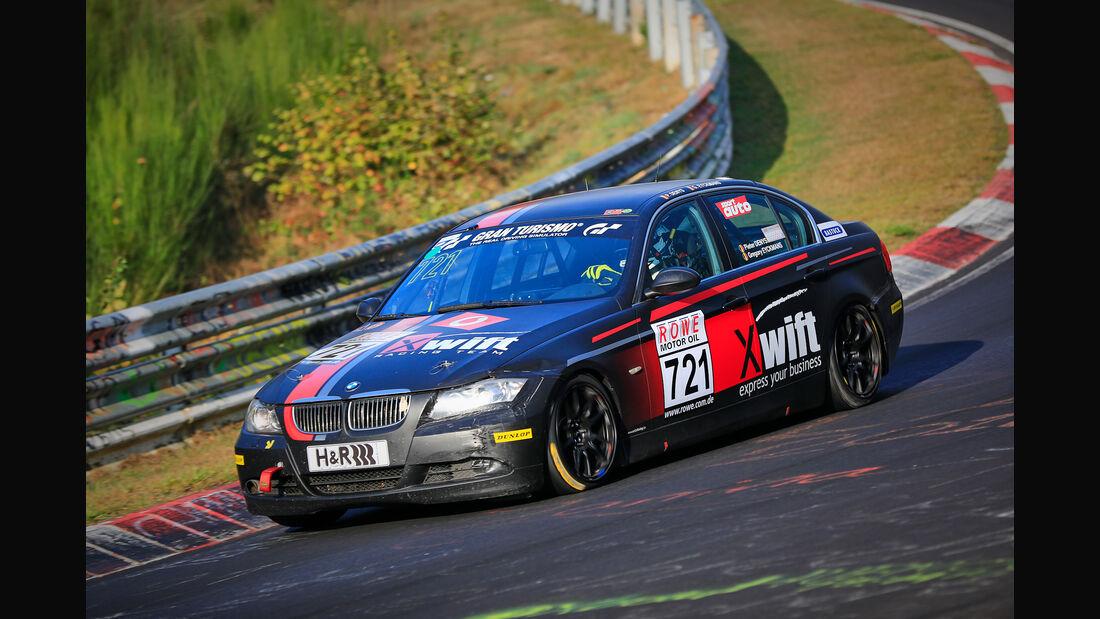 VLN - Nürburgring Nordschleife - Startnummer #721 - BMW 325i E90 - V4