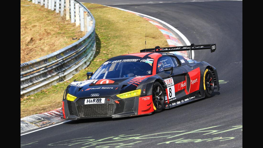 VLN - Nürburgring Nordschleife - Startnummer #8 - Audi R8 LMS - Audi Sport Team WRT - SP9 PRO