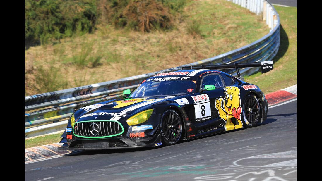 VLN - Nürburgring Nordschleife - Startnummer #8 - Mercedes AMG GT3 - Haribo Racing Team - SP9