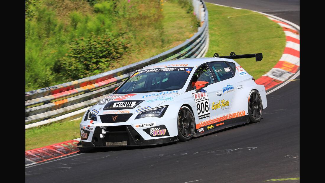 VLN - Nürburgring Nordschleife - Startnummer #806 - Seat Cupra TCR - Mathilda Racing - TCR