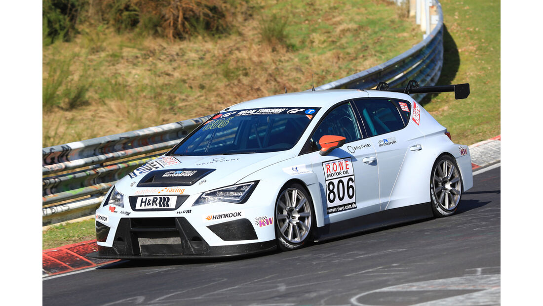 VLN - Nürburgring Nordschleife - Startnummer #806 - Sport TCR Seat Cup Racer - Mathilda Racing - TCR