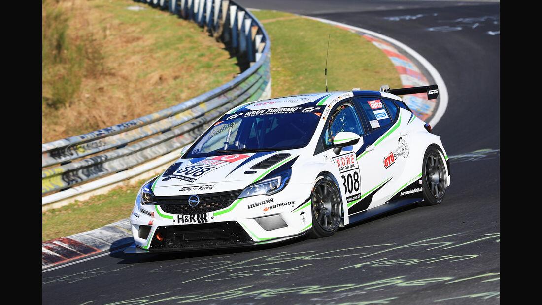 VLN - Nürburgring Nordschleife - Startnummer #808 - Opel Astra TCR - TCR