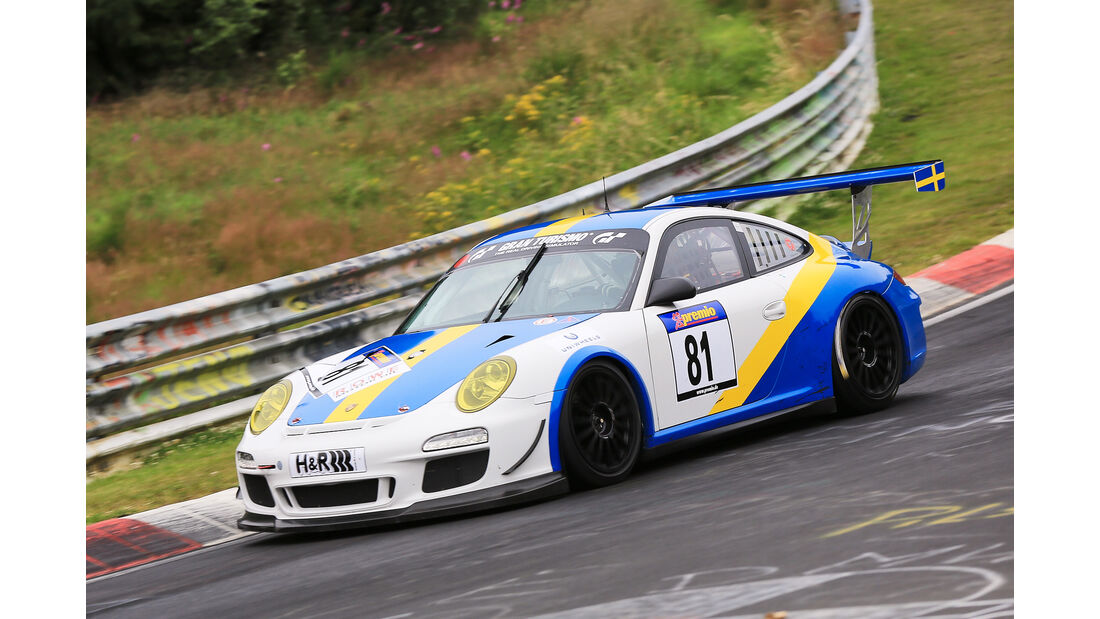 VLN - Nürburgring Nordschleife - Startnummer #81 - Porsche 997 GT3 Cup - SP7