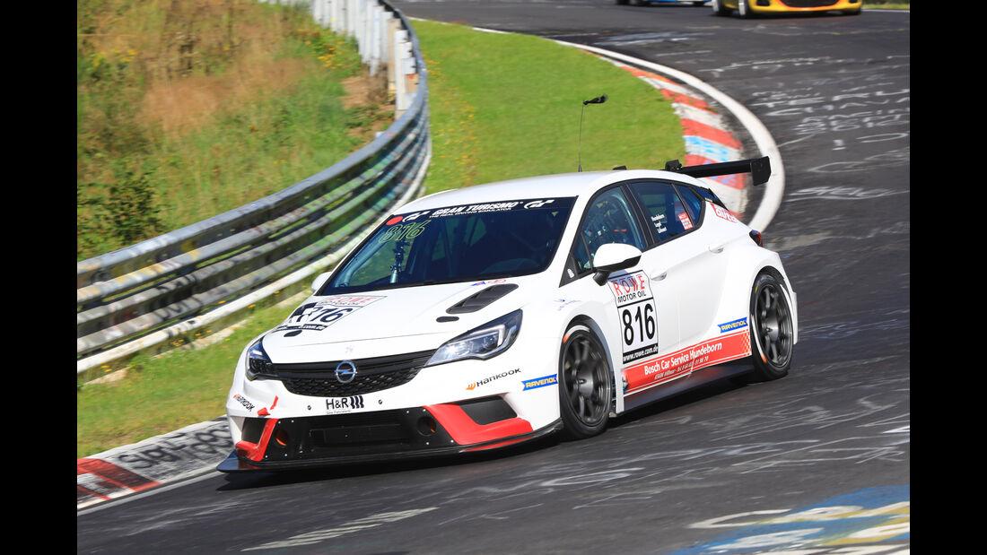 VLN - Nürburgring Nordschleife - Startnummer #816 - Opel Astra TCR - TCR