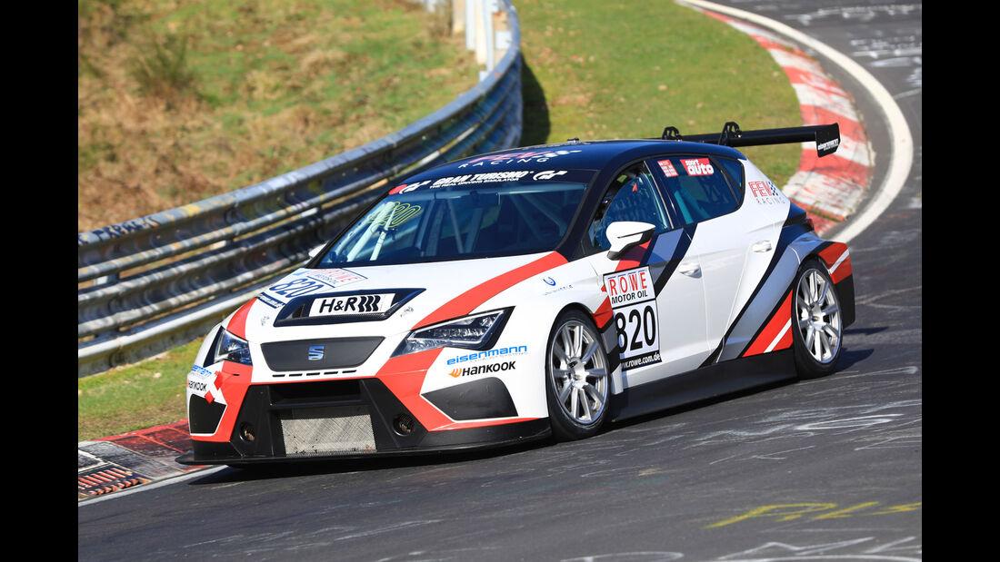 VLN - Nürburgring Nordschleife - Startnummer #820 - Seat Sport TCR Seat Cup Racer - FEV Racing - TCR