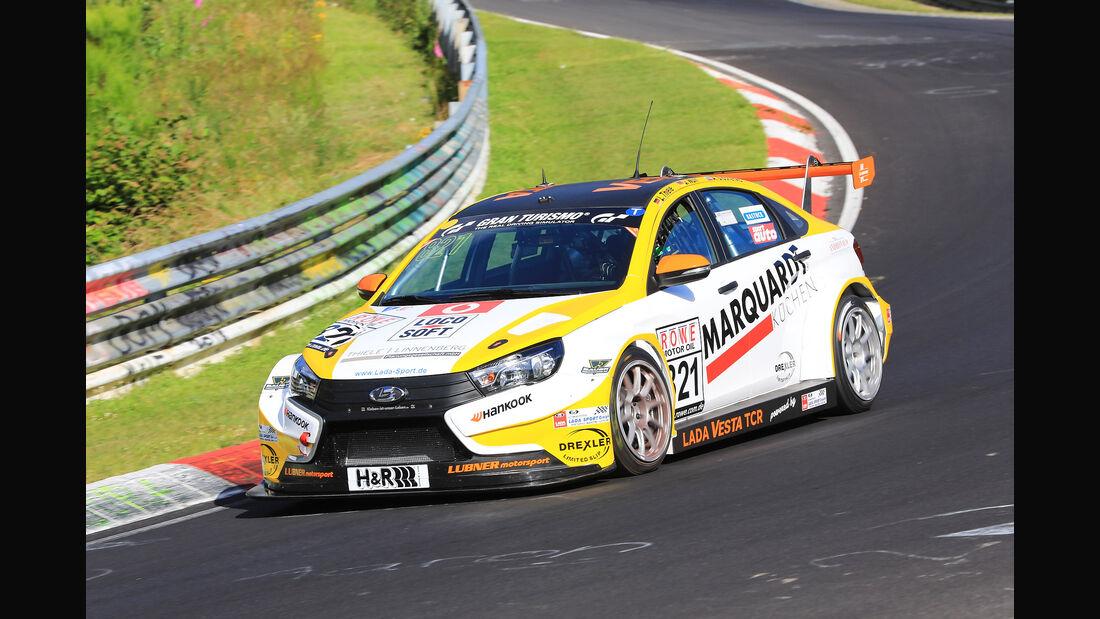 VLN - Nürburgring Nordschleife - Startnummer #821 - Lada Vesta TCR - LUBNER Motorsport - TCR