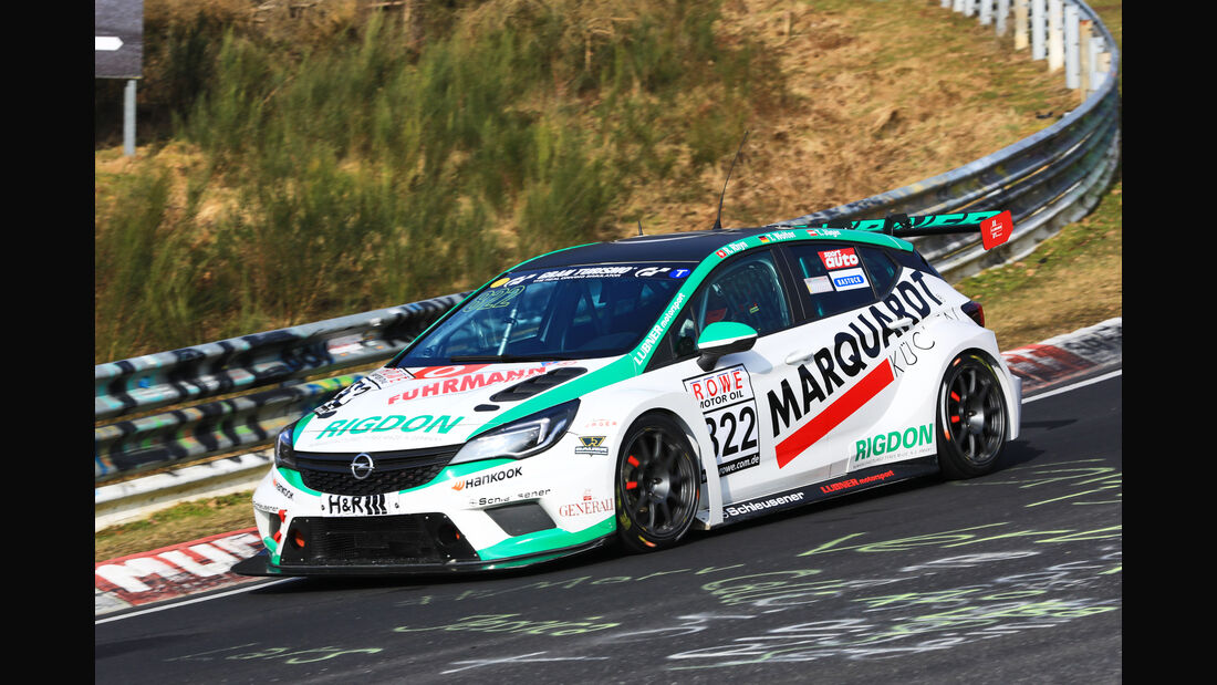 VLN - Nürburgring Nordschleife - Startnummer #822 - Opel Astra TCR - LUBNER Motorsport - TCR