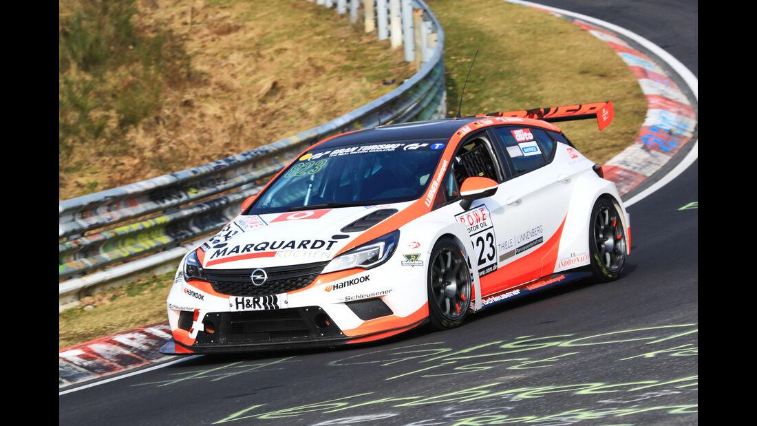 VLN - Nürburgring Nordschleife - Startnummer #823 - Opel Astra TCR - LUBNER Motorsport - TCR
