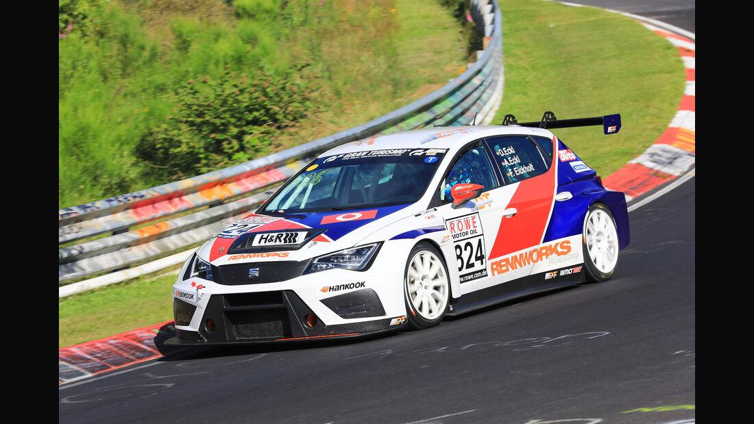 VLN - Nürburgring Nordschleife - Startnummer #824 - Seat Cupra TCR - TCR