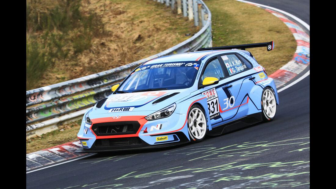 VLN - Nürburgring Nordschleife - Startnummer #831 - Hyundai i30 TCR - Hyunday Motorsport N - TCR
