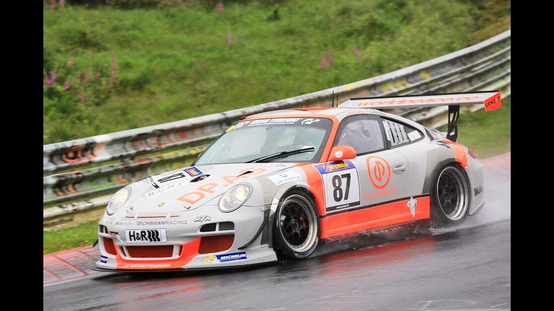 VLN - Nürburgring Nordschleife - Startnummer #87 - Porsche 911 GT3 CUP - H4