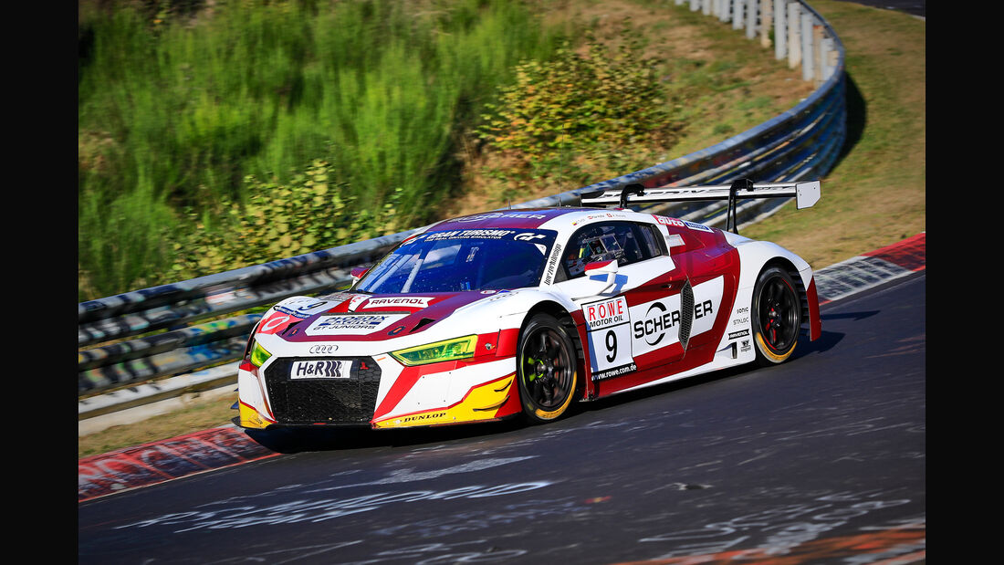 VLN - Nürburgring Nordschleife - Startnummer #9 - Audi R8 LMS- Phoenix Racing - SP9 PRO