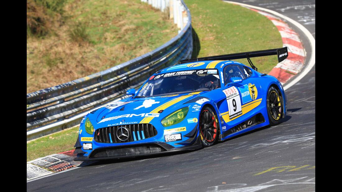 VLN - Nürburgring Nordschleife - Startnummer #9 - Mercedes AMG GT3 - Team Black Falcon - SP9