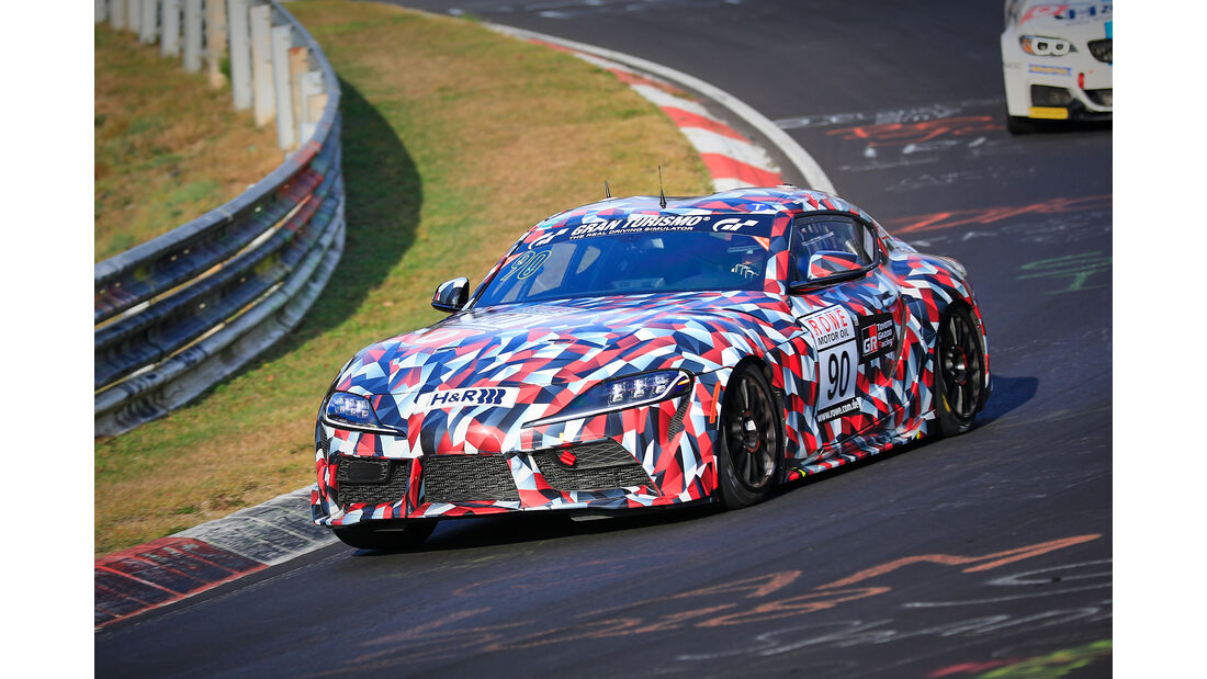 VLN - Nürburgring Nordschleife - Startnummer #90 - Toyota A90 (Supra) - Toyota Gazoo Racing - SP8T