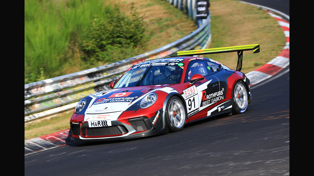 VLN - Nürburgring Nordschleife - Startnummer #91 - Porsche 911 GT3 Cup - SP7