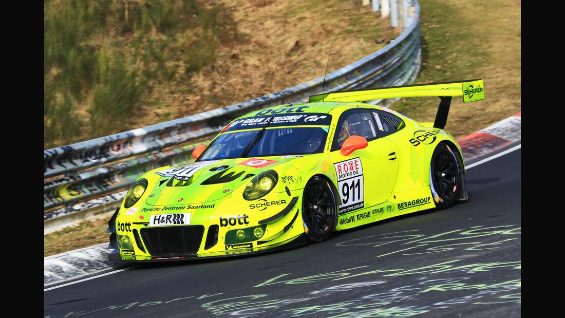VLN - Nürburgring Nordschleife - Startnummer #911 - Porsche 911 GT3 R - Manthey Racing - SP9 PRO