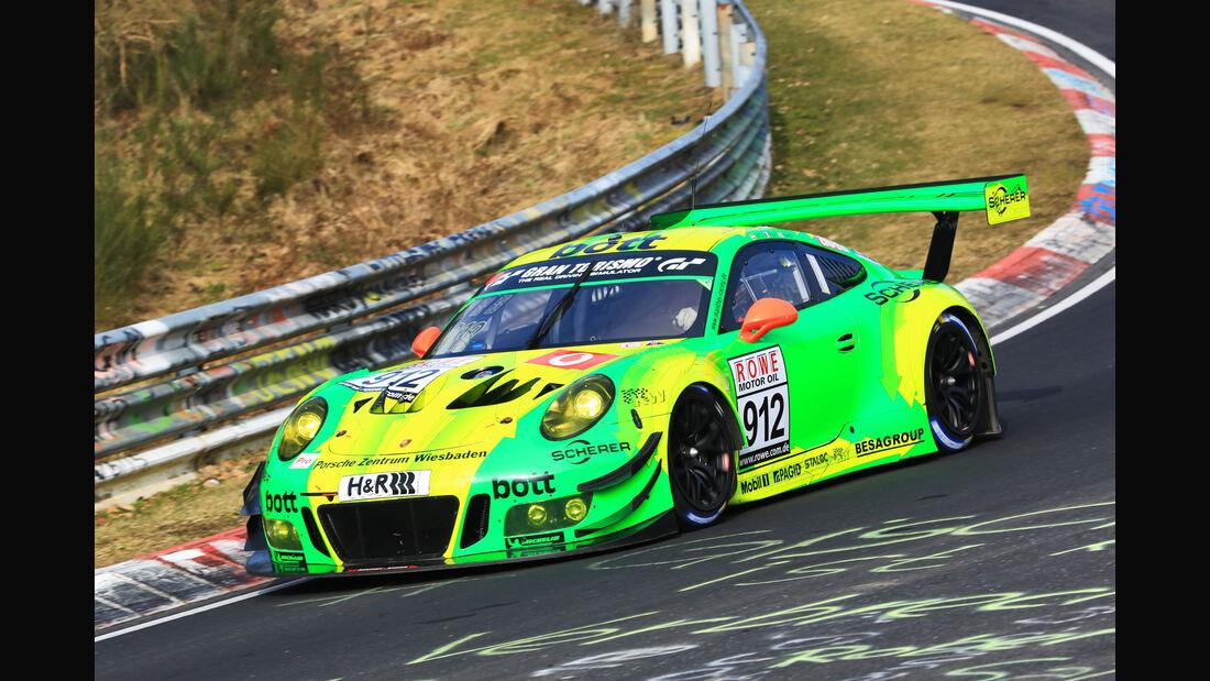 VLN - Nürburgring Nordschleife - Startnummer #912 - Porsche 911 GT3 R - Manthey Racing - SP9 PRO