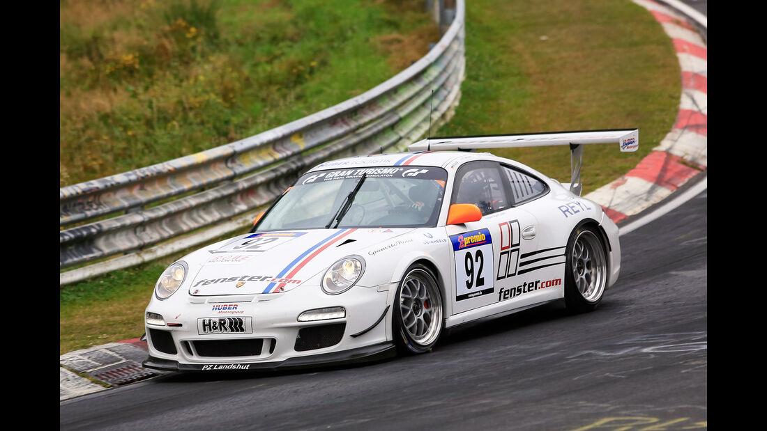 VLN - Nürburgring Nordschleife - Startnummer #92 - Porsche 997 GT3 Cup - SP7