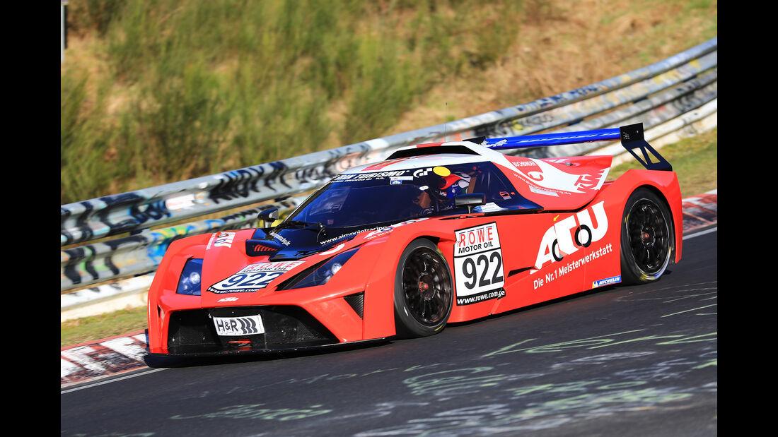 VLN - Nürburgring Nordschleife - Startnummer #922 - KTM X-Bow GT4 - CUPX