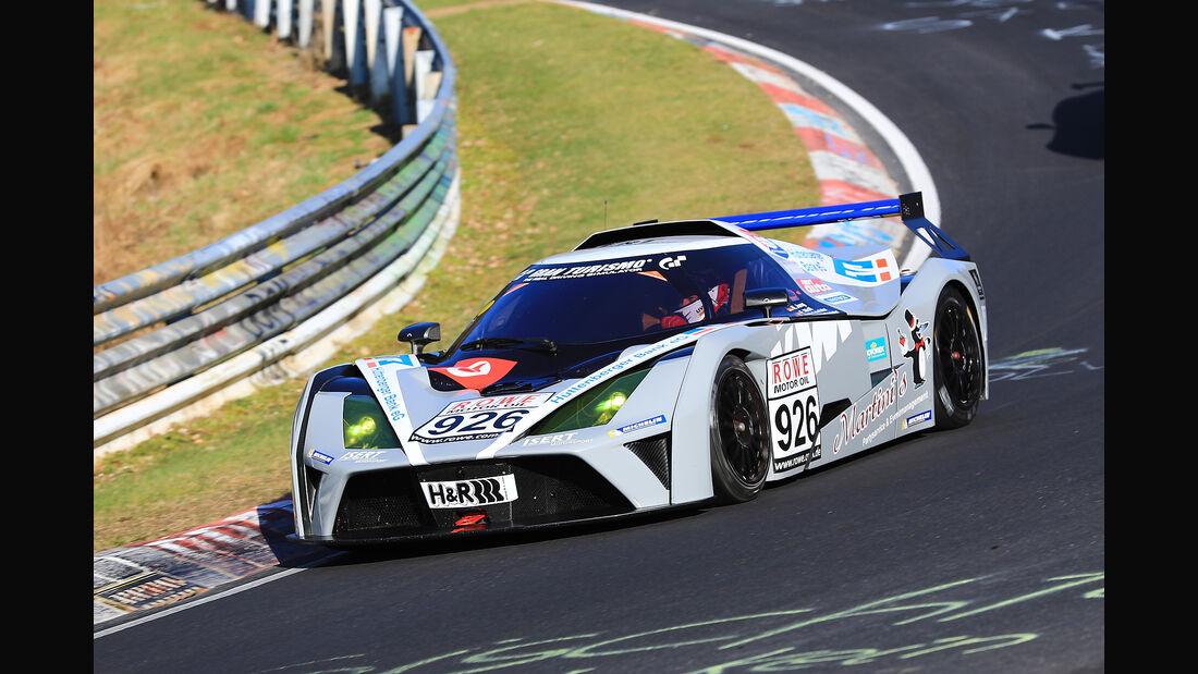 VLN - Nürburgring Nordschleife - Startnummer #926 - KTM X-Bow GT4 - Isert Motorsport - CUPX