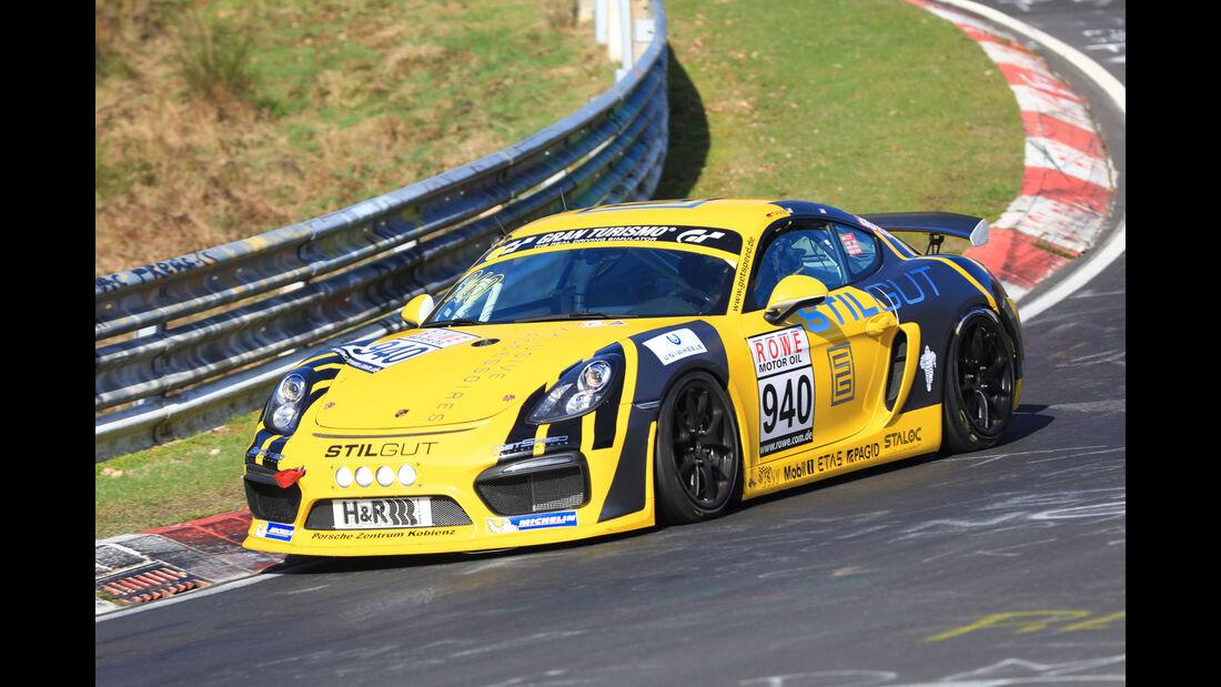 VLN - Nürburgring Nordschleife - Startnummer #940 - Porsche Cayman GT4 Clubsport - Gigaspeed Team GetSpeed Performance - CUP3
