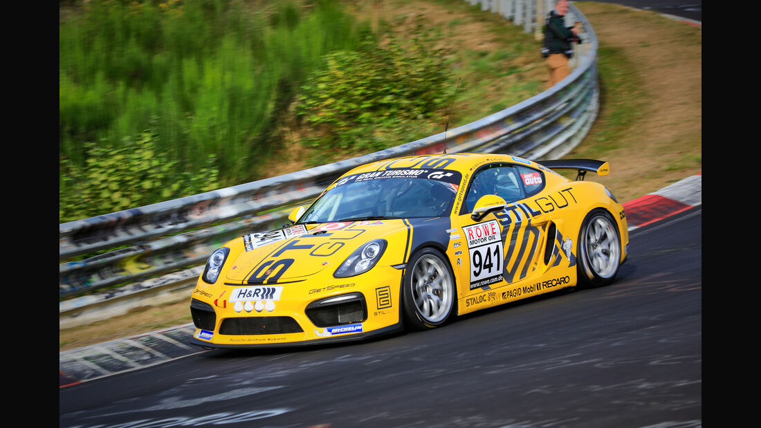 VLN - Nürburgring Nordschleife - Startnummer #941 - Porsche Cayman GT4 CS - GetSpeed Performance - CUP3