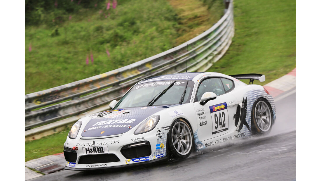 VLN - Nürburgring Nordschleife - Startnummer #942 - Porsche Cayman GT4 Clubsport - CUP3