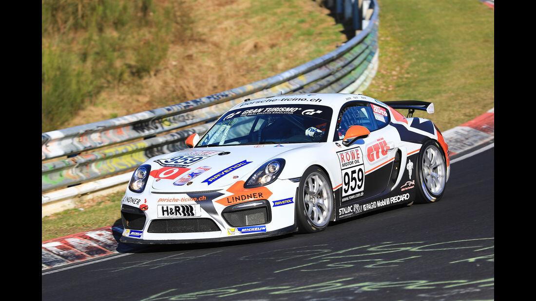 VLN - Nürburgring Nordschleife - Startnummer #959 - Porsche Cayman GT4 CS - CUP3