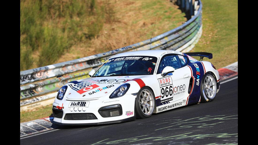 VLN - Nürburgring Nordschleife - Startnummer #966 - Porsche Cayman GT4 CS - Fanclub Mathol Racing e.V. - CUP3