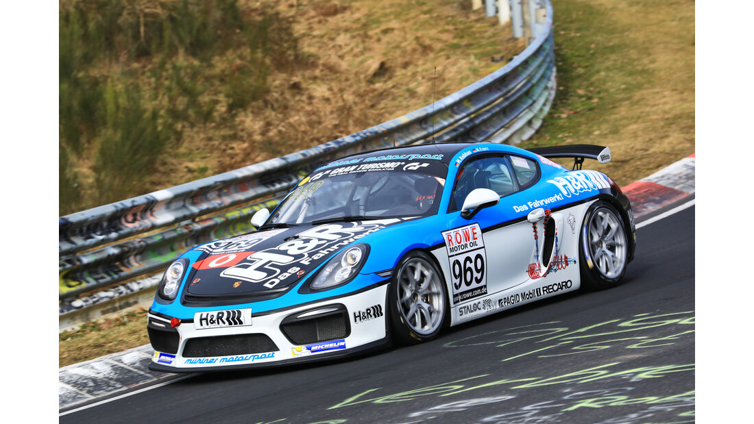 VLN - Nürburgring Nordschleife - Startnummer #969 - Porsche Cayman GT4 CS - MABANOL Premium Motor Oil - CUP3