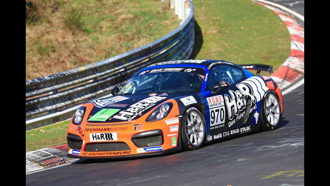 VLN - Nürburgring Nordschleife - Startnummer #970 - Porsche Cayman GT4 Clubsport -MSC Adenau e.V. im ADAC - CUP3